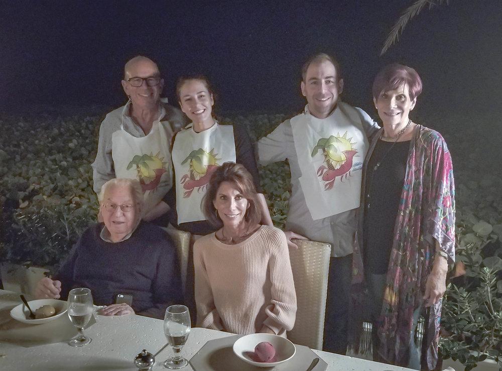 Delray Beach, FL with Linda, Arthur, Tama, and Larry | December 2017
