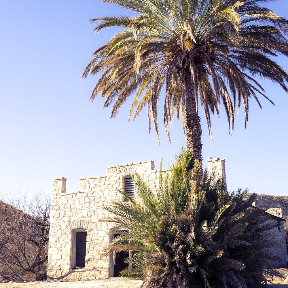 Abandoned hot springs resort