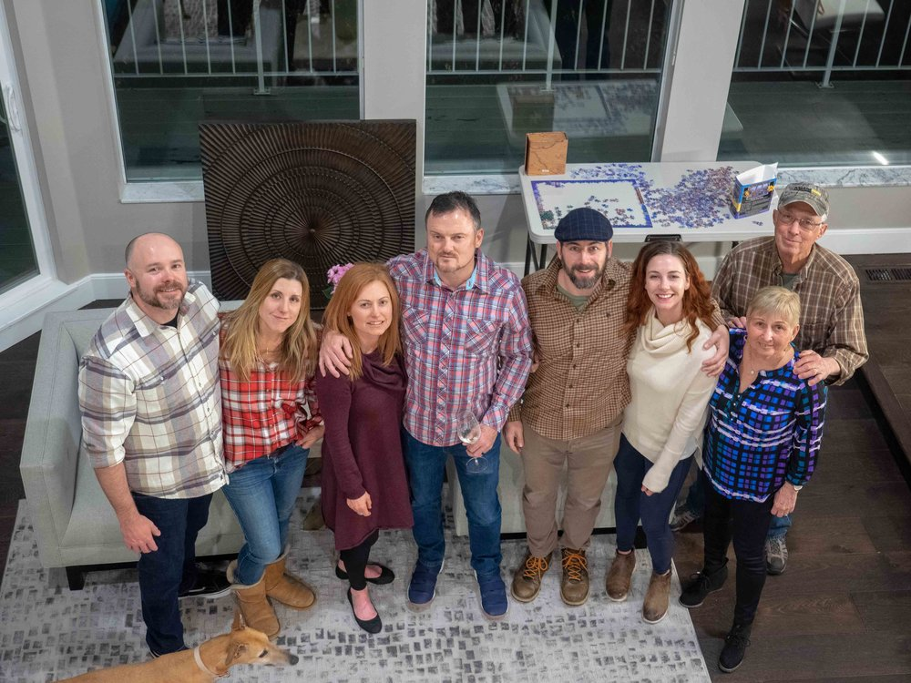 Salt Lake City with Mike, Jen, Libby, Dean, Vicky, George and Stella | Thanksgiving 2018