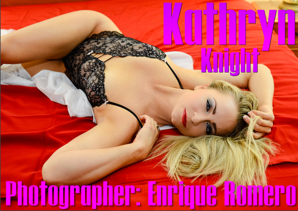 Model/Director Kathryn Knight