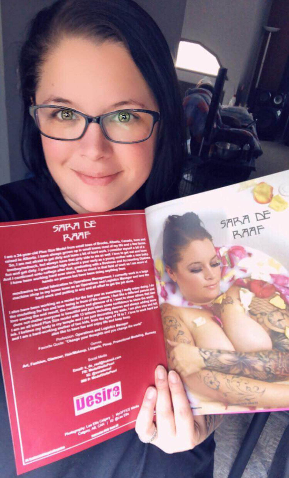 Sara De Raaf - Sep 2018