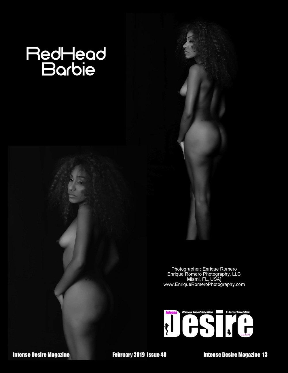 Cover Model RedHead Barbie