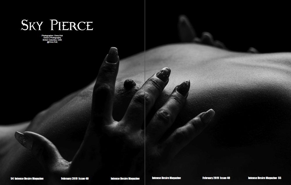Model Sky Pierce