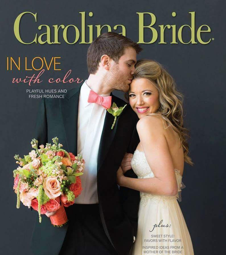 Carolina Bride featured stylist: Sissy Duncan - The Color Issue