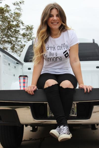 - I drink coffee like a Gilmore -