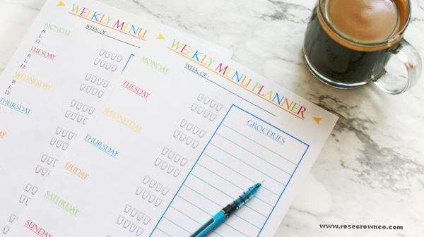 click here for your FREE weekly menu planner