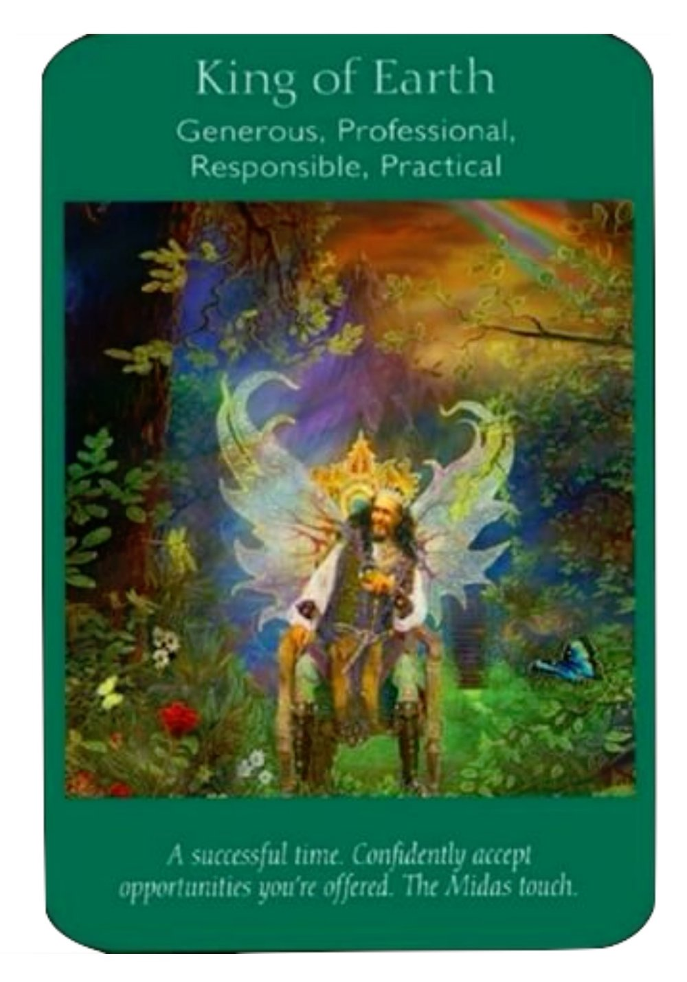 King of Earth (Angel Tarot Cards - Doreen Virtue & Radleigh Valentine)