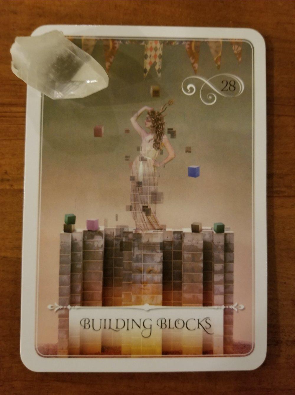 Building Blocks - Wisdom of the Oracle, Colette Baron-Reid