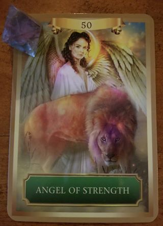 Angel of Strength - Energy Oracle Cards, Sandra Anne Taylor