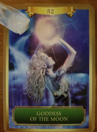 Goddess of the Moon - Energy Oracle Cards, Sandra Anne Taylor
