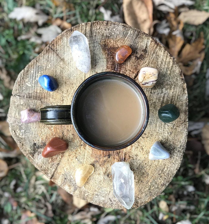 Crystals, vibration, healing