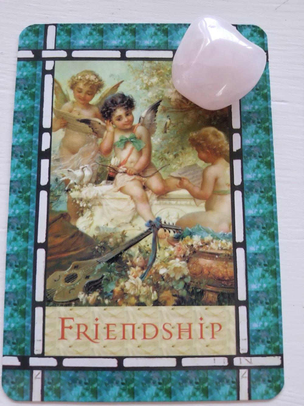FRIENDSHIP - Healing with the Angels Oracle by Doreen Virtue