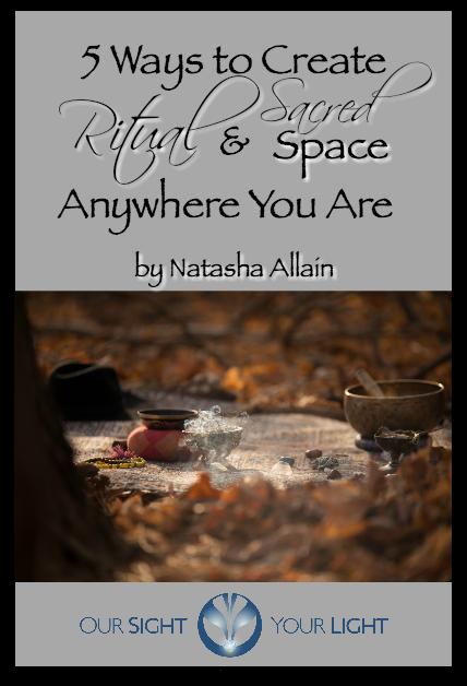 FREE GUIDE - 5 Ways to Create Ritual & Sacred Space Anywhere
