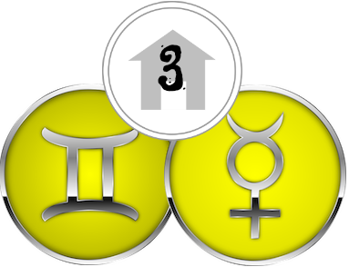 The Third House, ruled by Gemini &Mercury
