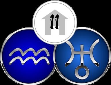 The Eleventh House, ruled by Aquarius & Uranus