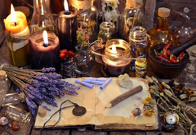 Magick Spell session, spell casting, witch