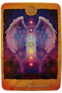 ANGELS & MASTERS - Chakra Reading Cards