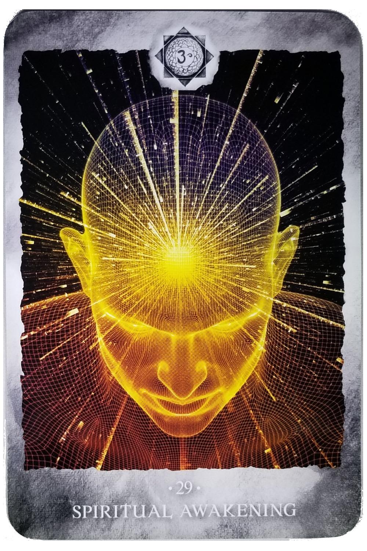 SPIRITUAL AWAKENING - Chakra Reading Cards