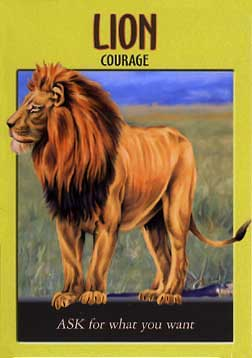 LION - Power Animal Oracle