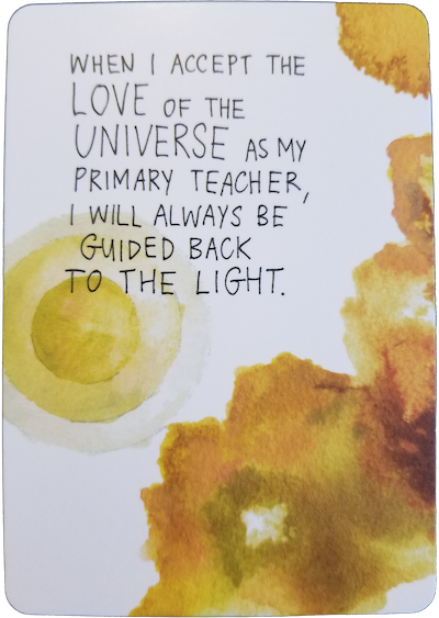 ACCEPT LOVE - Universe Has Your Back