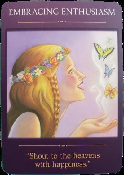 EMBRACING ENTHUSIASM - Sacred Traveler Oracle