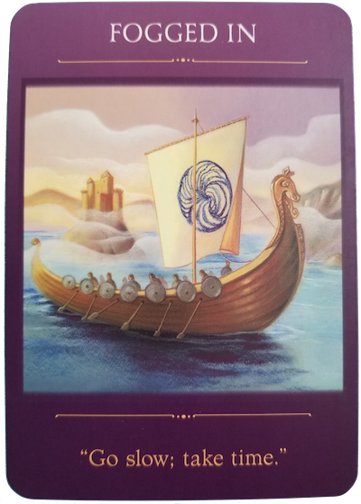 FOGGED IN - Sacred Traveler Oracle