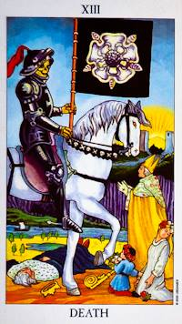 DEATH - Radiant Rider Waite Tarot