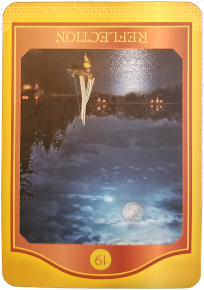 REFLECTION (Reversed) - The Akashic Tarot