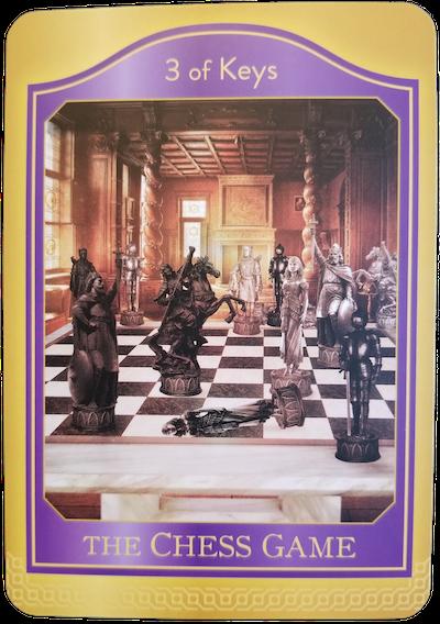 3 OF KEYS - The Akashic Tarot