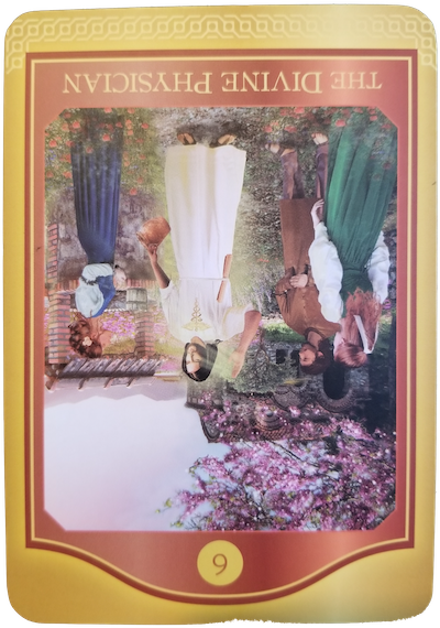 THE DIVINE PHYSICIAN (Reversed) - The Akashic Tarot
