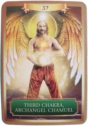 THIRD CHAKRA, ARCHANGEL CHAMUEL - Energy Oracle