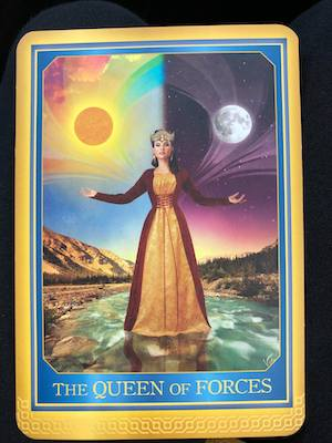 QUEEN OF FORCES - Akashic Tarot