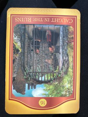 CAUGHT IN THE RUINS - Akashic Tarot