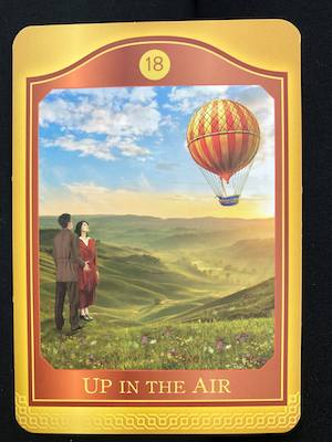 UP IN THE AIR - Akashic Tarot