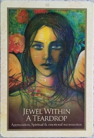 JEWEL WITHIN A TEARDROP - Gaia Oracle