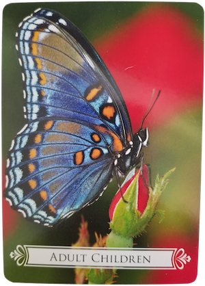 ADULT CHILDREN - Butterfly Oracle for Life Changes