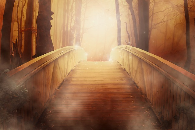 bridge between the physical world and the unseen, the divine, the spiritual, the universe