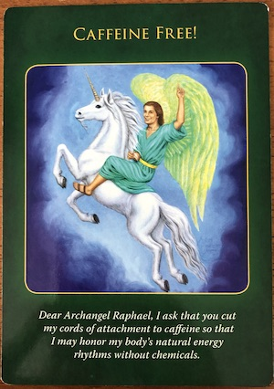 CAFFEINE FREE - Archangel Raphael Healing Oracle