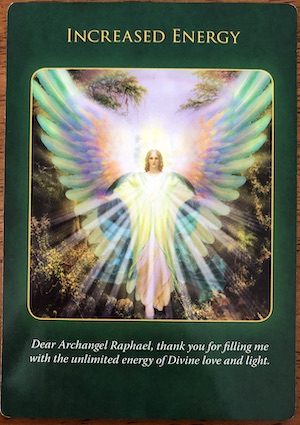 INCREASED ENERGY- Archangel Raphael Healing Oracle