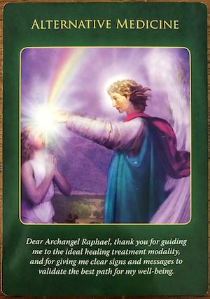ALTERNATIVE MEDICINE - Archangel Raphael Healing Oracle