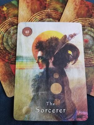 THE SORCERER - Mystical Shaman Oracle, Colette Baron-Reid