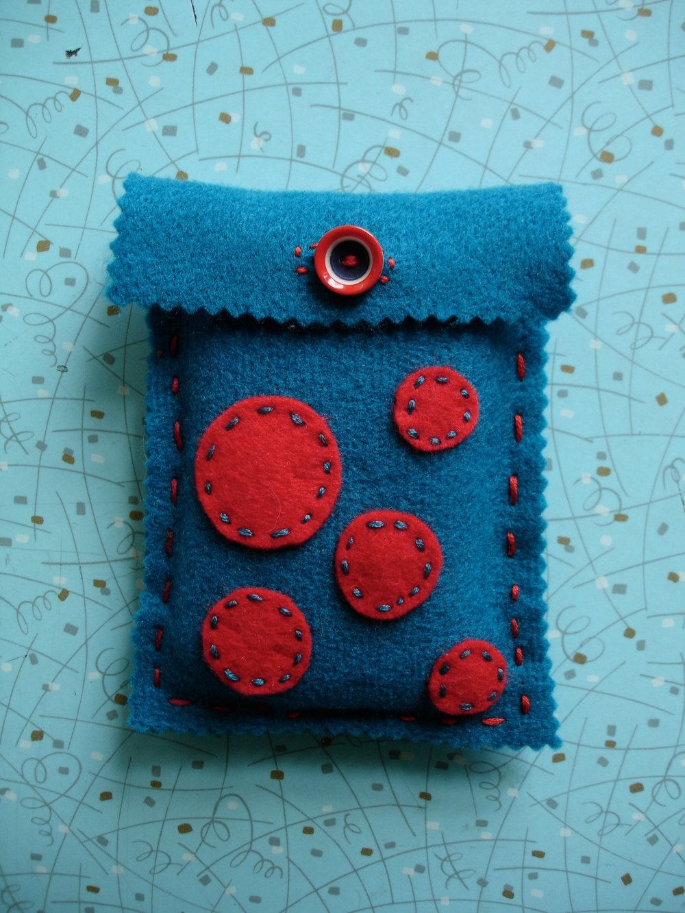 Felt Pouch, ages 8 and up - description here.....