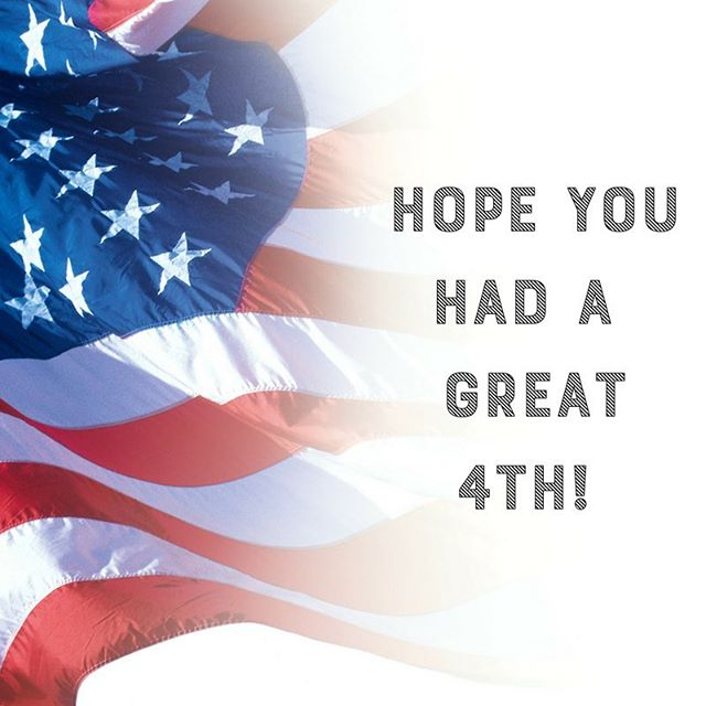 From all of us here at @studiocowork we hope you had a great 4th!