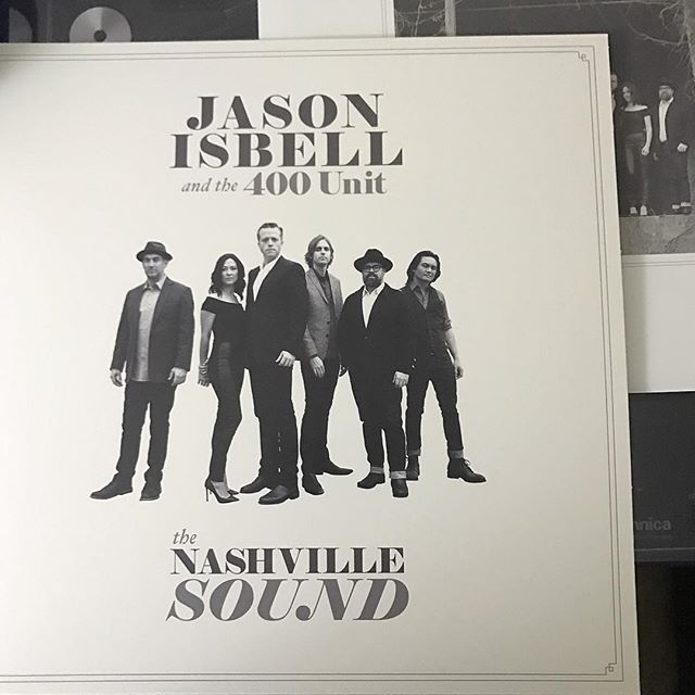 A big shoutout to @krislogsdon15 for hooking me up with @jasonisbell and the 400 Unit's new album. I appreciate the gift man! This album is amazing.