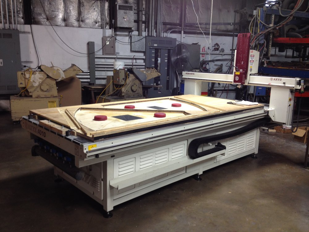 AXYZ 5010  CNC Router / CNC Knife Working Area 60 x 120 x 12″