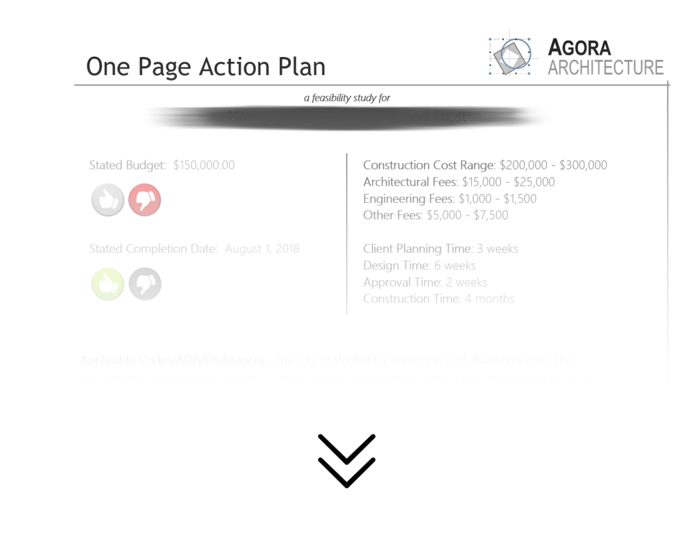 One Page Action Plan