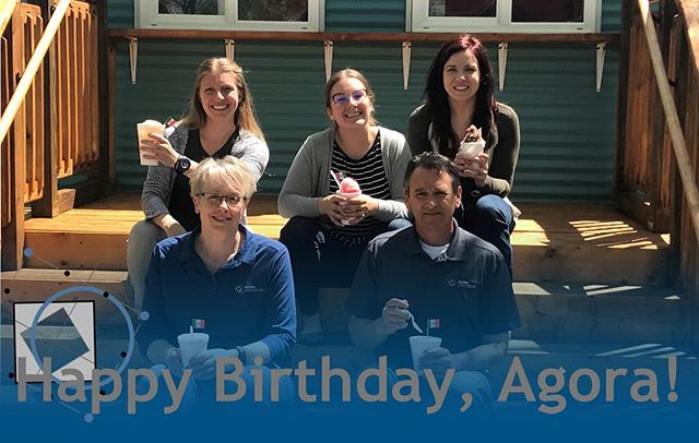 Happy One Year Birthday, Agora!