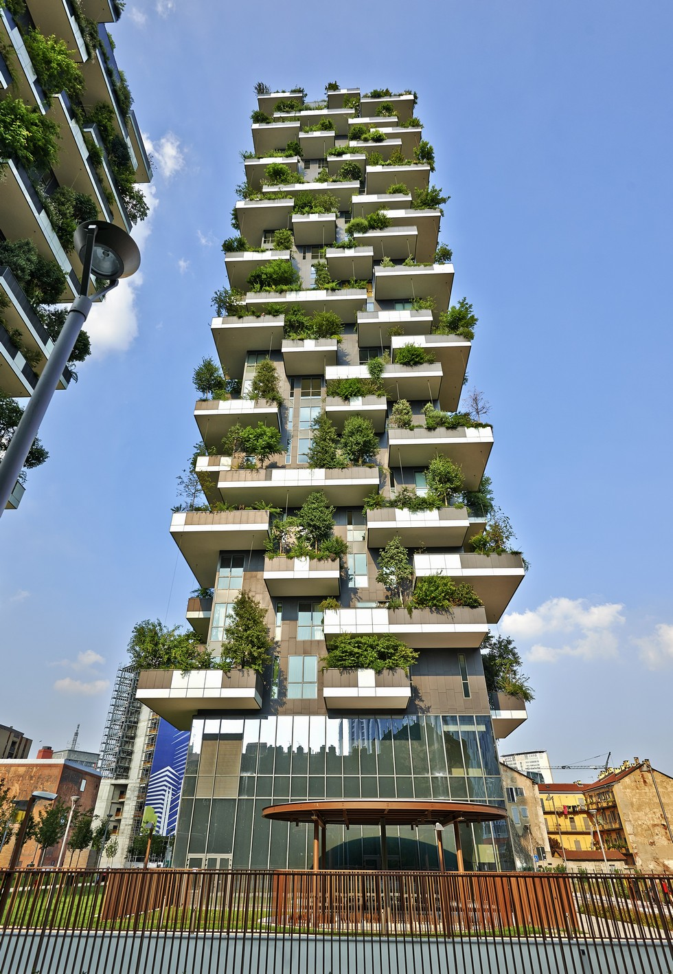 Milan - Vertical Forest Tower - Architect Stefano Boeri