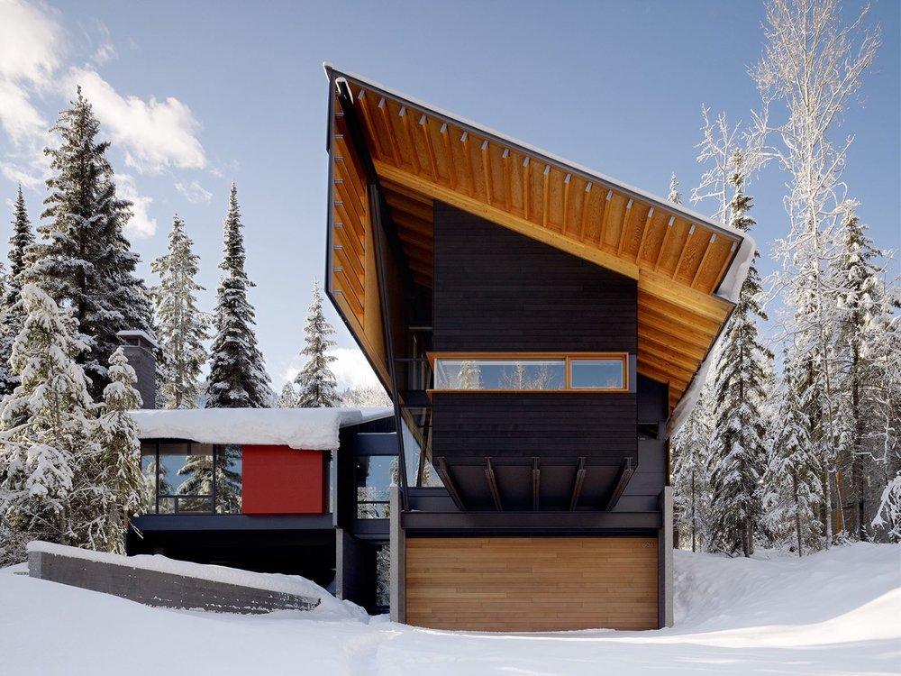 BCJ Architecture - Kicking Horse Residence