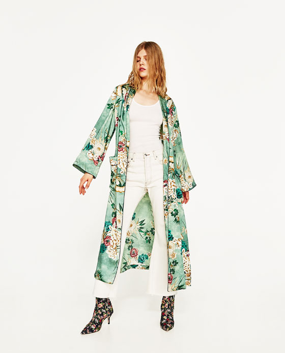 The spring came and this amazing number started the season off right. We saw this beauty on everyone and everywhere. So many sold that it made it to ebay and was selling. Don't worry, Zara has it back in stock.